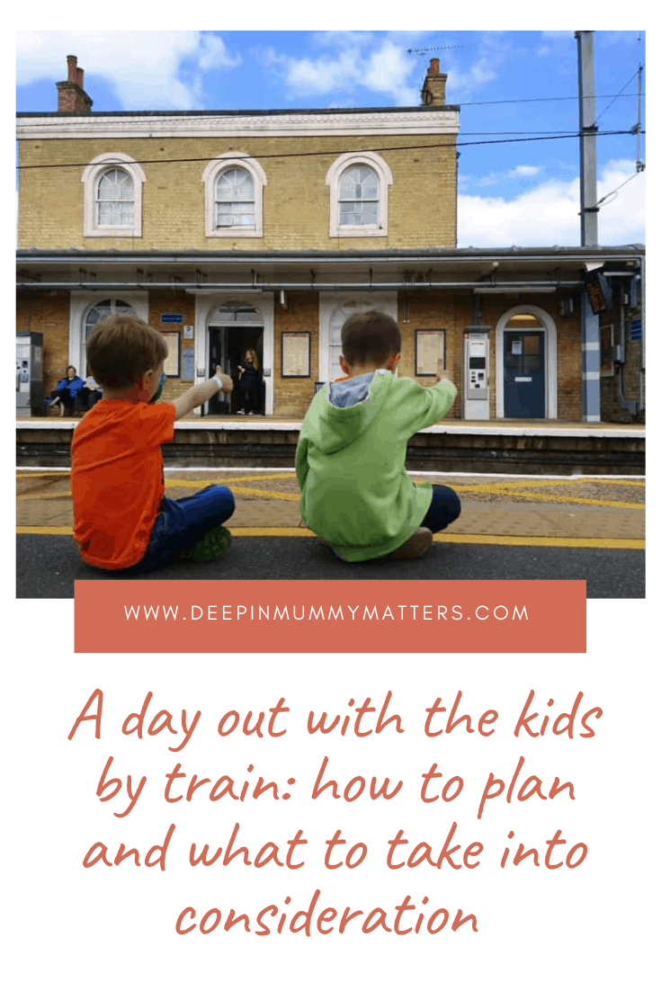 A day out with the kids by train: how to plan and what to take into consideration 2