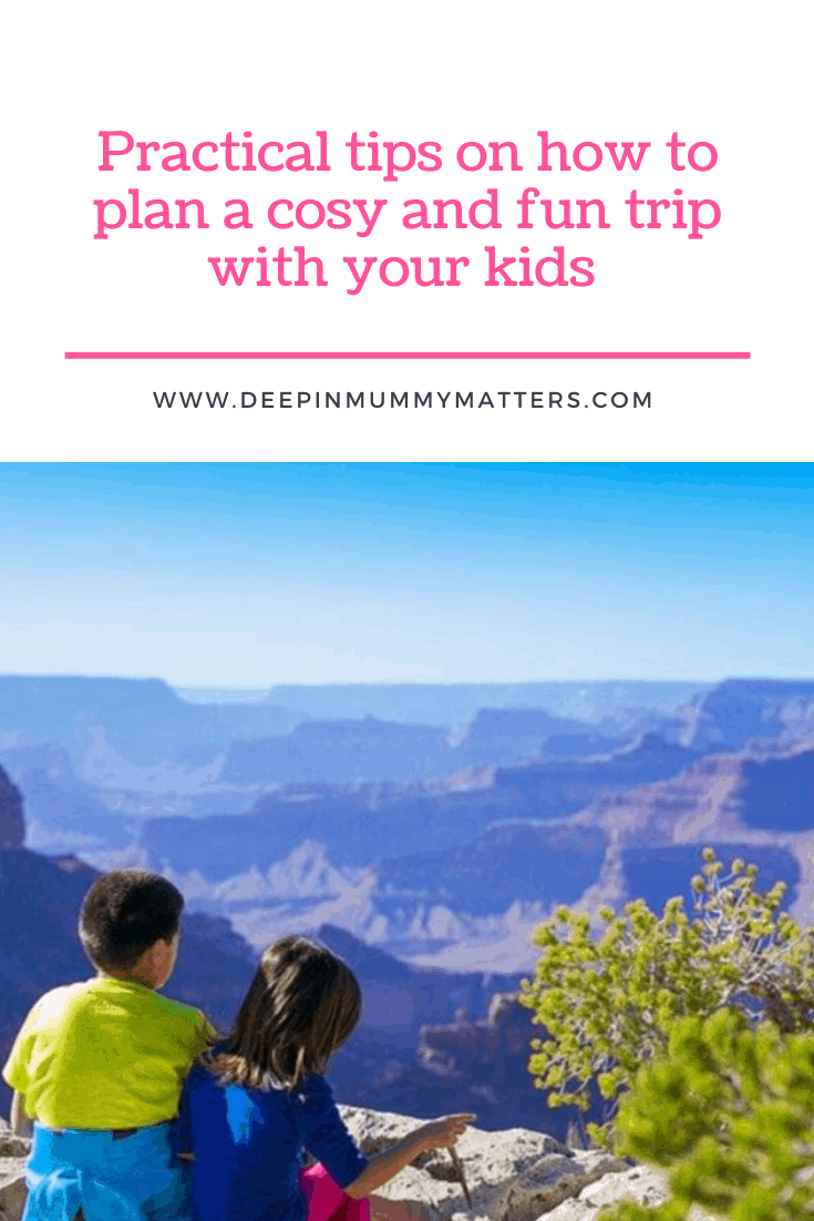 Practical Tips On How To Plan A Cosy And Fun Trip With Your Kids 1