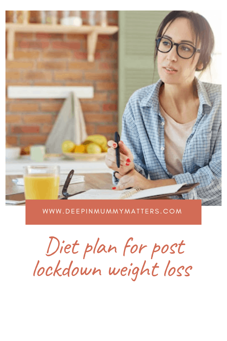 Diet Plan for Post Lockdown Weight Loss 2