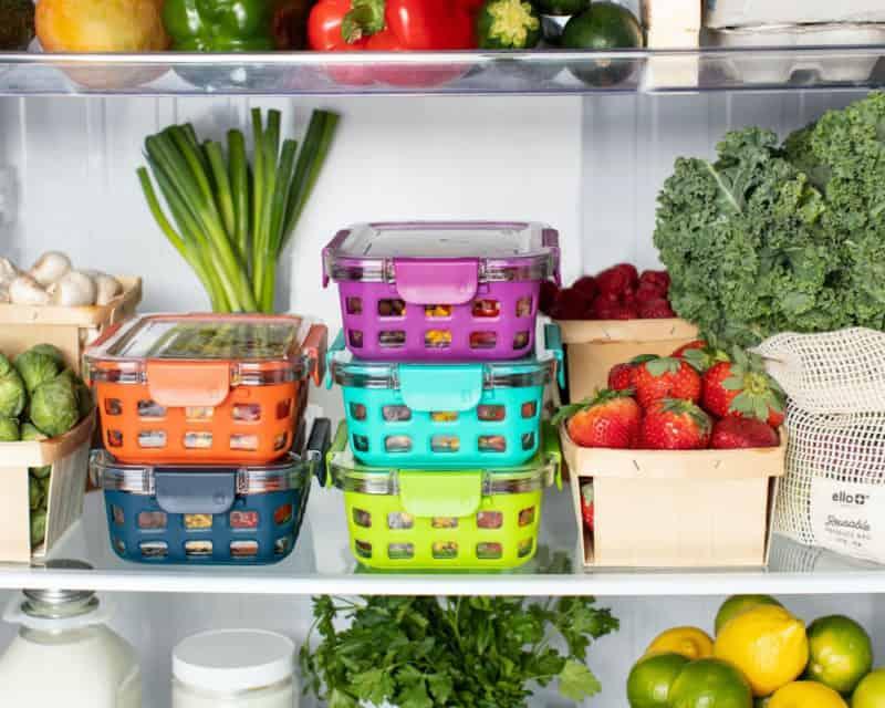 Organised fridge