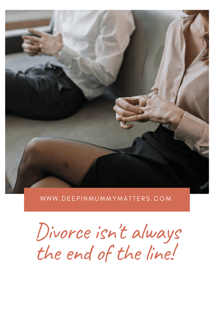 Divorce Isn't Always the End of the Line! 1