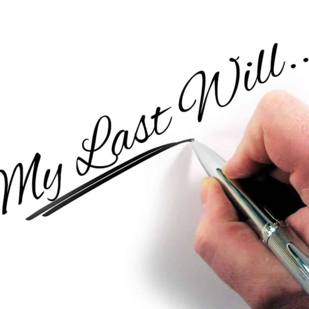 Why It's Important To Write A Will
